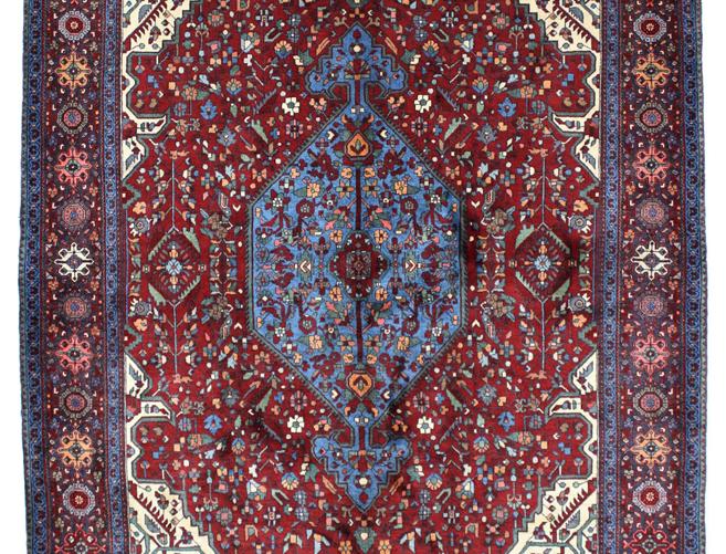 数寄の絨毯33204/ビドゲネ・メダリオンコーナー文様絨毯