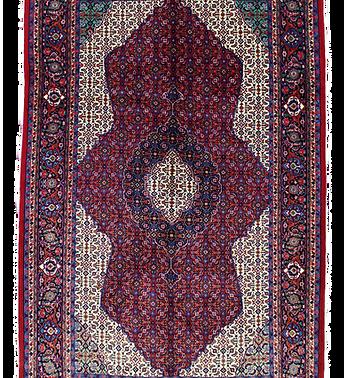 数寄の絨毯33219/ギアサバード・メダリオンコーナー文様絨毯