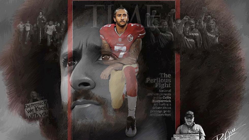 Kneel for Justice Poster
