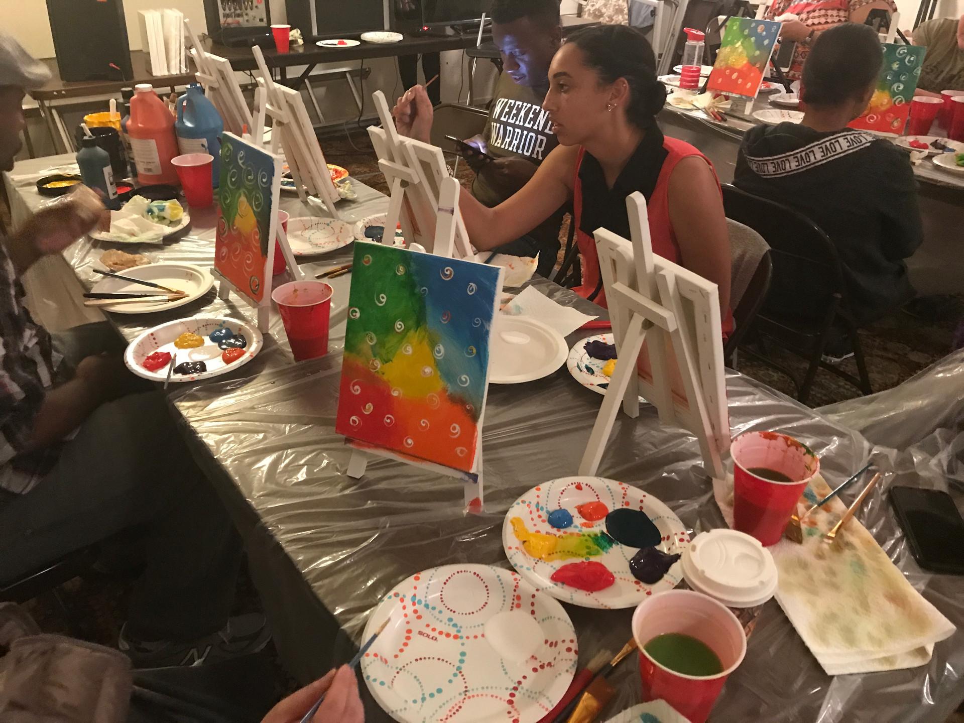Paint Parties