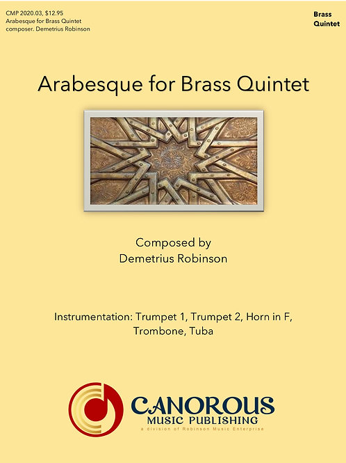 Arabesque for Brass Quintet