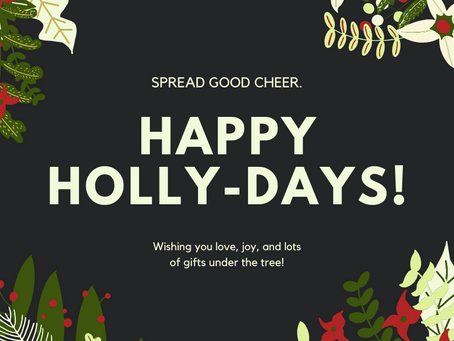 Happy HOLLY-DAYS from your Friends at Robinson Music Enterprise!
