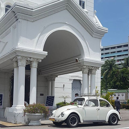 VW Beetle wedding package from $288/4 ho