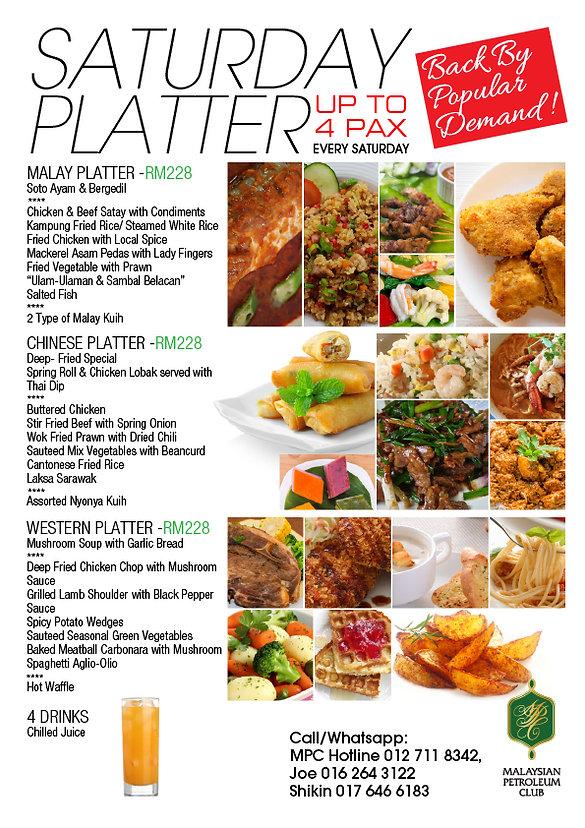 Saturday Platter