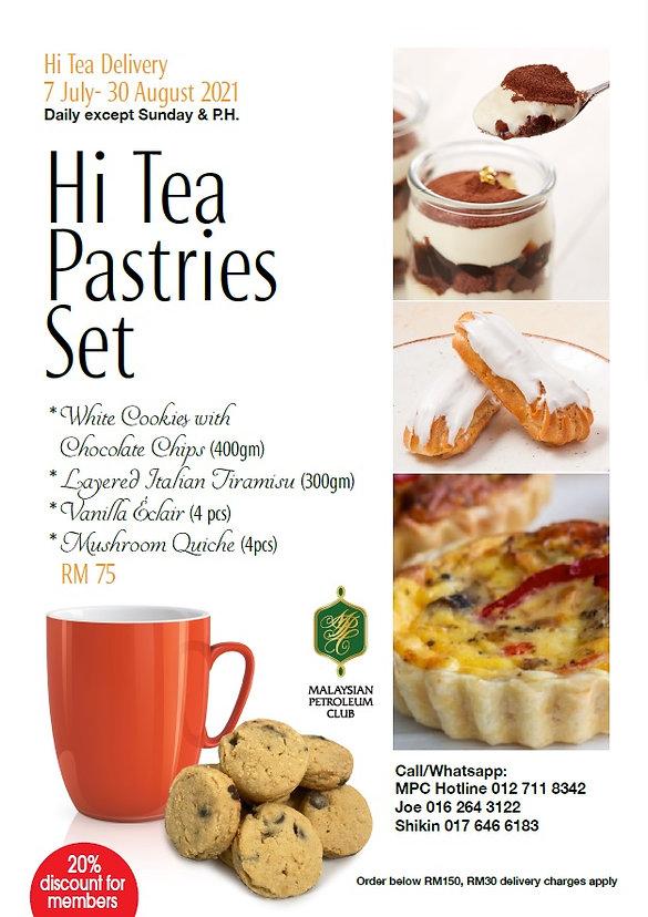 HI Tea Pastries Set
