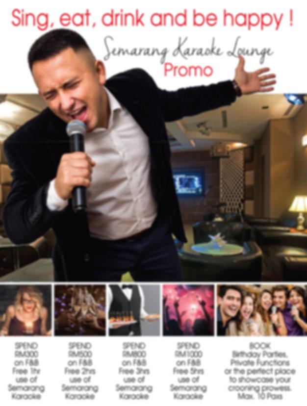 Samarang Karaoke Lounge Promotion