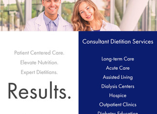 Registered Dietitian Consultant Services