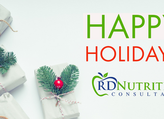 Happy Holidays from RD Nutrition Consultants