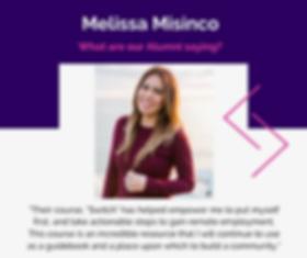 Meet Melissa Misinco- Social Media Post.