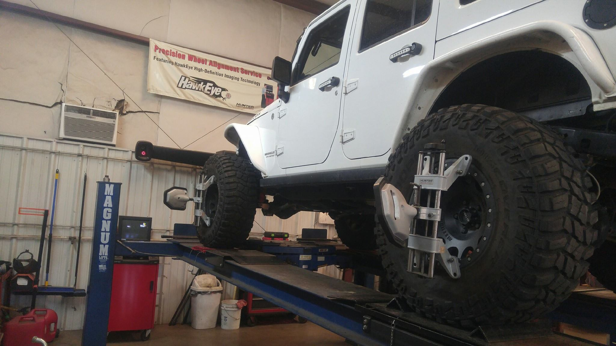 2014 Lifted Jeep