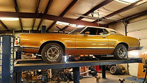 Mercury Cougar Restoration Asheboro