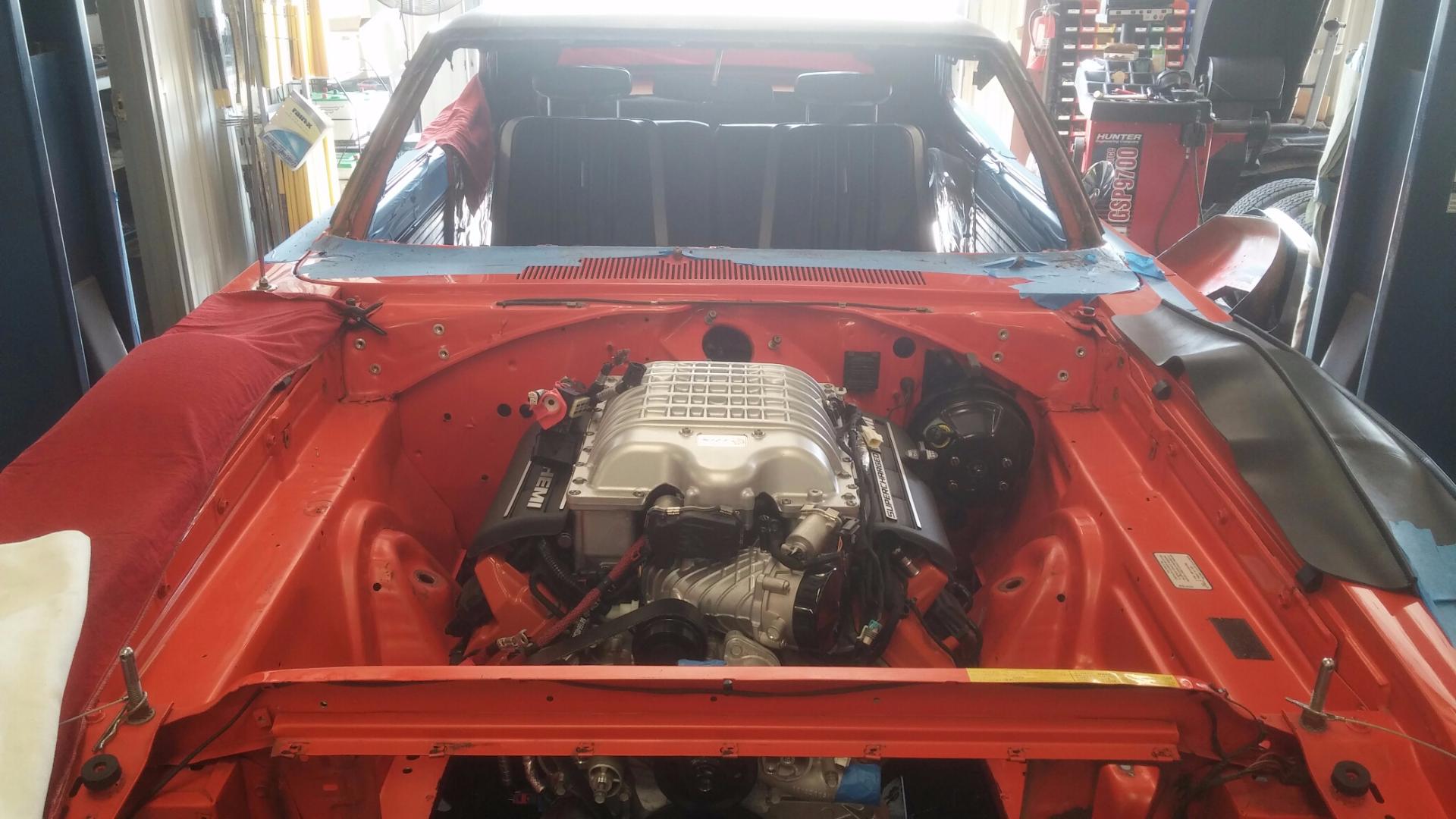 Hellcat Engine in Superbird