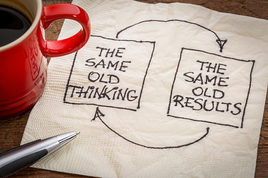 Same old thinking gets the same old results.