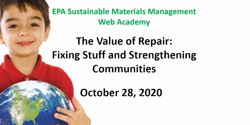 The Value of Repair: Fixing Stuff and Strengthening Communities