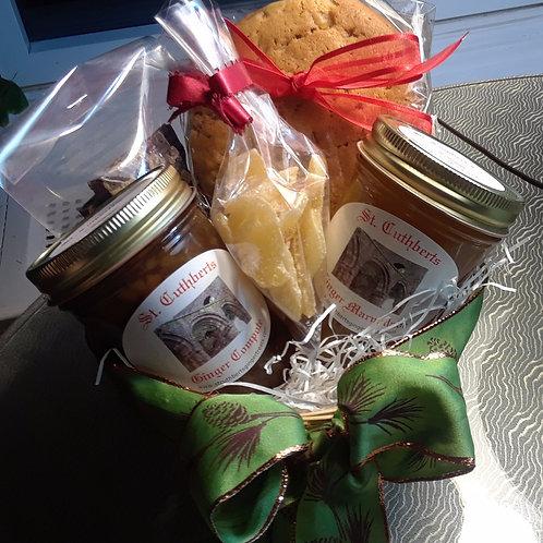 Lindisfarne Abbey Gift Basket