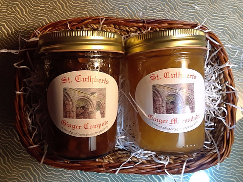 St. Cuthbert's Duo Basket