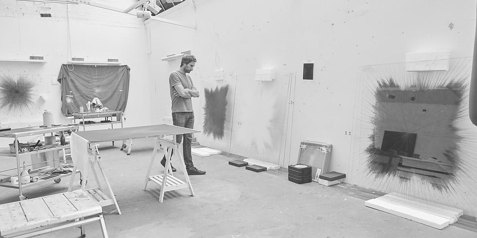 Studio visit of Idris Khan in conversation with Céline Fribourg