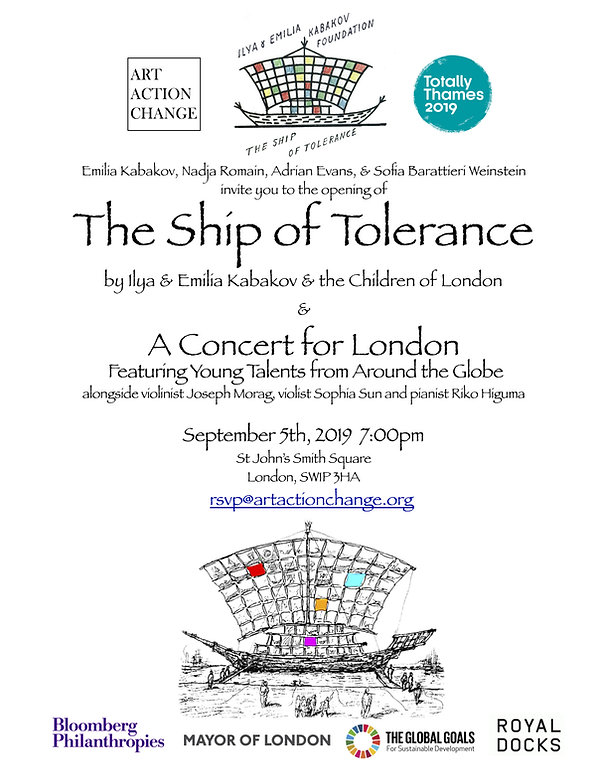Invitation The Ship of Tolerance by Ilya