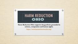 Seneca - Presentation on Harm Reduction.