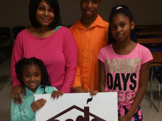 ECDC GRANT HELPS FIRST TIME HOME-BUYER FAMILY