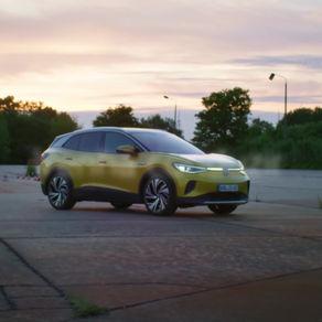 Novo Volkswagen ID.4 em exposição no Ecar Show