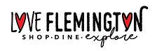 LoveFlemington horizontal logo tagline C