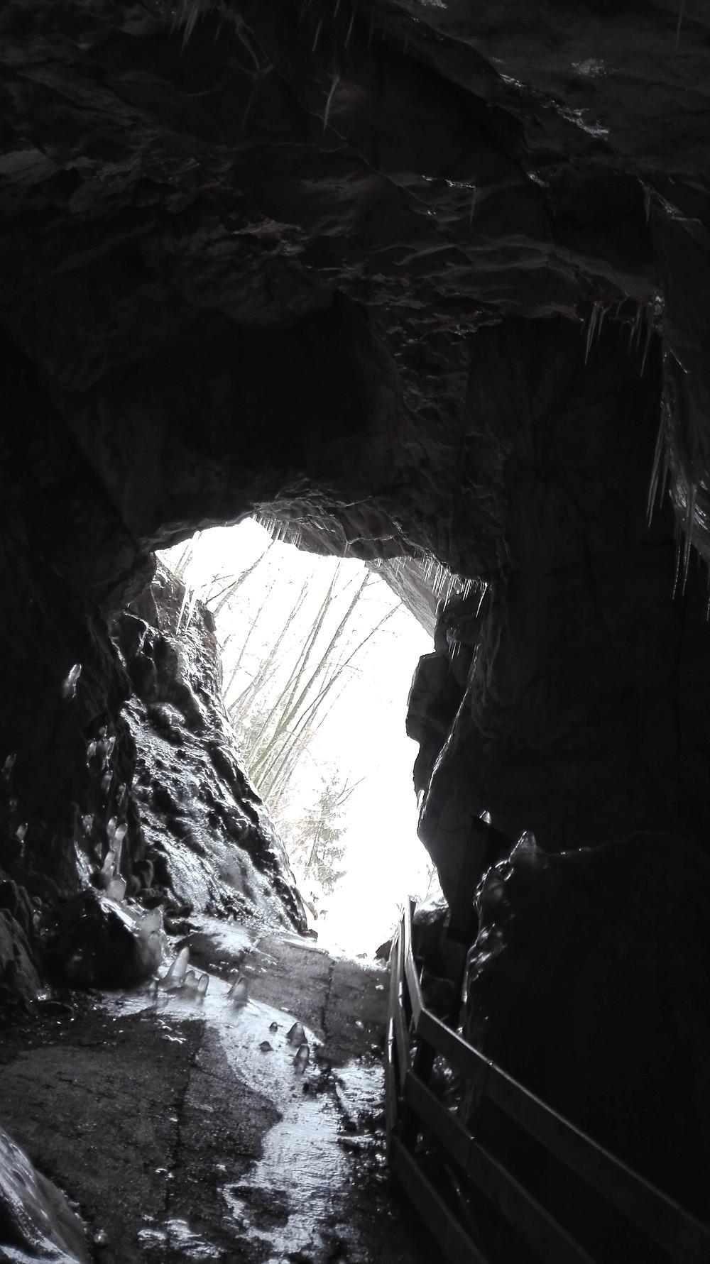 Έξοδος σπηλαίου