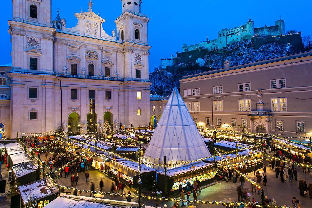 Salzburger Christkindlmarkt © Tourismus Salzburg, Breitegger Günter