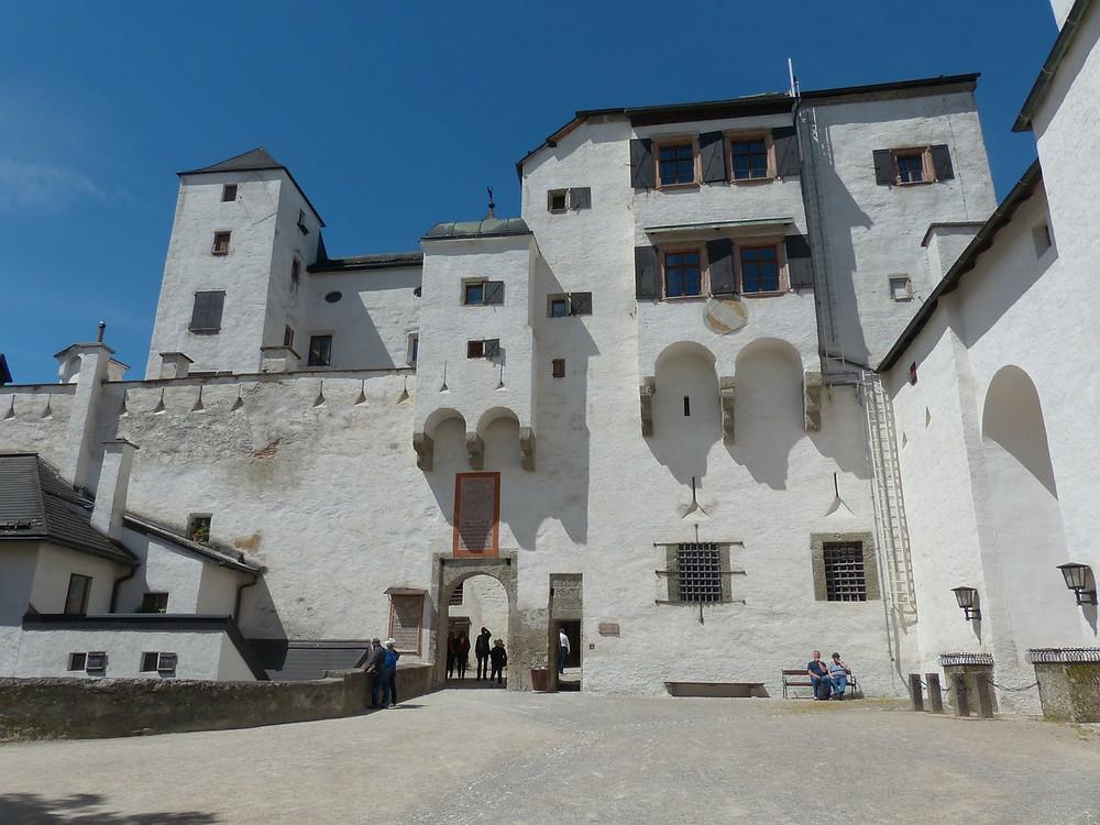 Εσωτερικό του οχυρού