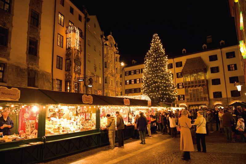 Χριστούγεννα Ινσμπρουκ ©Tirol Werbung / Moser Laurin