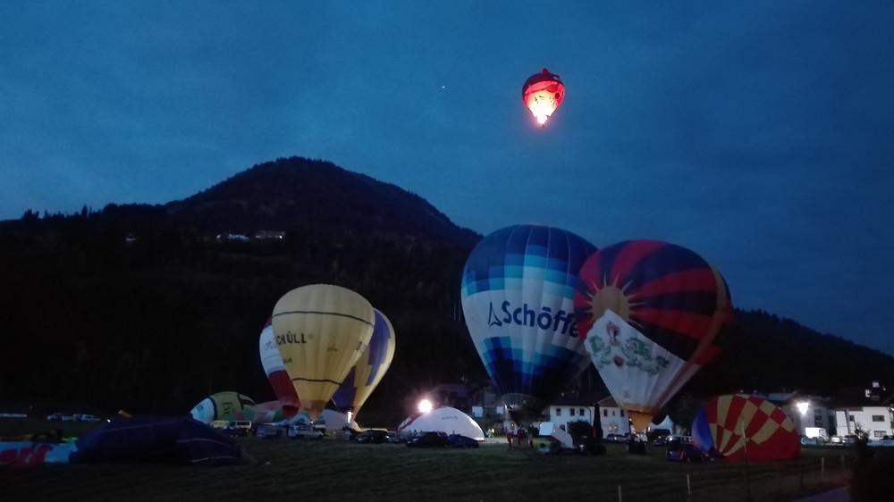 Προετοιμασία Αερόστατου