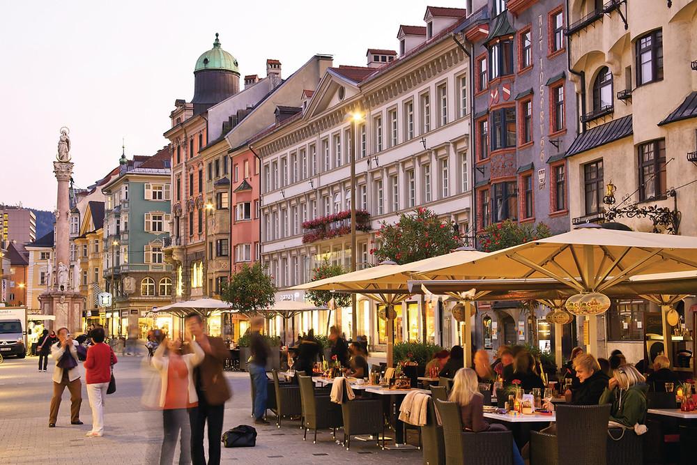 Maria Theresien Straße © Innsbruck Tourismus / Christof Lackner