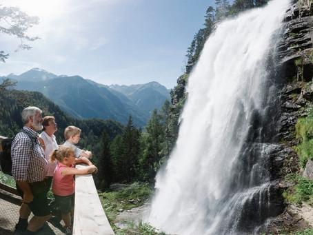 Ο εντυπωσιακός καταρράκτης Stuibenfall στο Ötztal