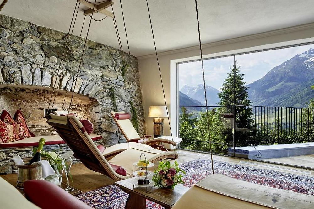 Δωμάτιο ξενοδοχείου Schloss Mittersill