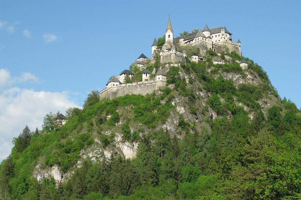 Hochosterwitz κάστρο