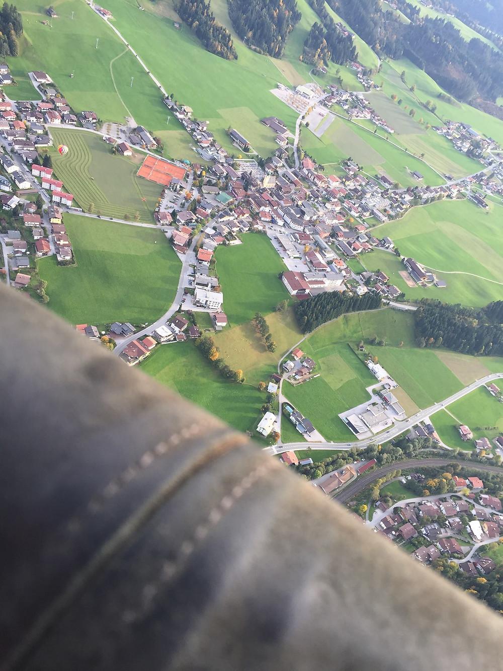 Αερόστατο στις Αλπεις ©Hannes Dersch