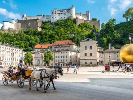 8 ideal spots for instagram photos in Salzburg