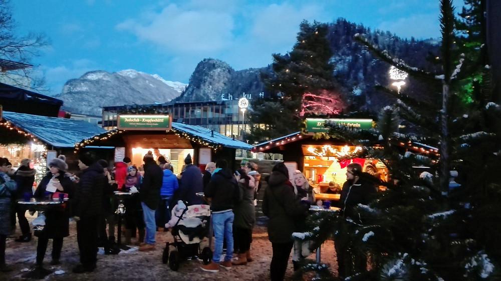 Χριστουγεννιάτικη αγορά της πόλης