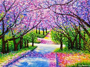 Path of Jacaranda Trees #3