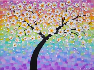 Cherry Blossom Rainbow