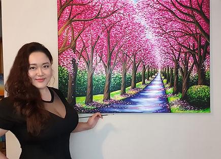 Jessica Cherry Blossom Trees 1.jpg