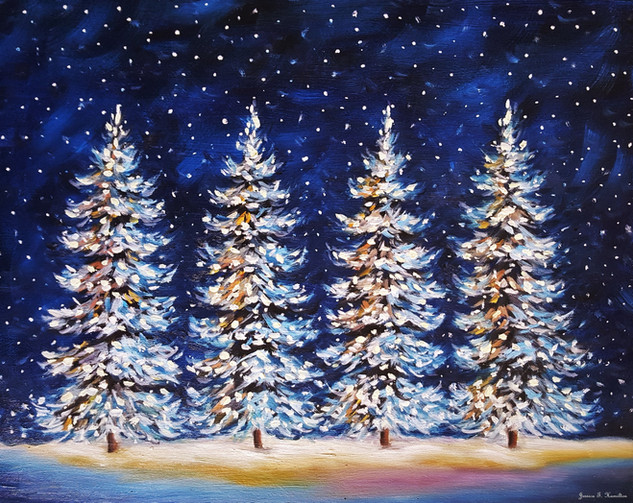 Glow of Christmas Night