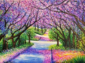 Path of Jacaranda Trees #2