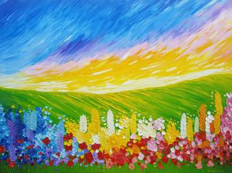 Field of Flowers 3