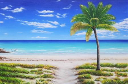 Tranquil Palm Beach