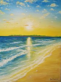 GoldenBeachSunrise by JessicaTHamilton 2
