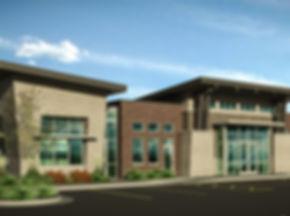ENT Center - Riverton - Exterior Renderi