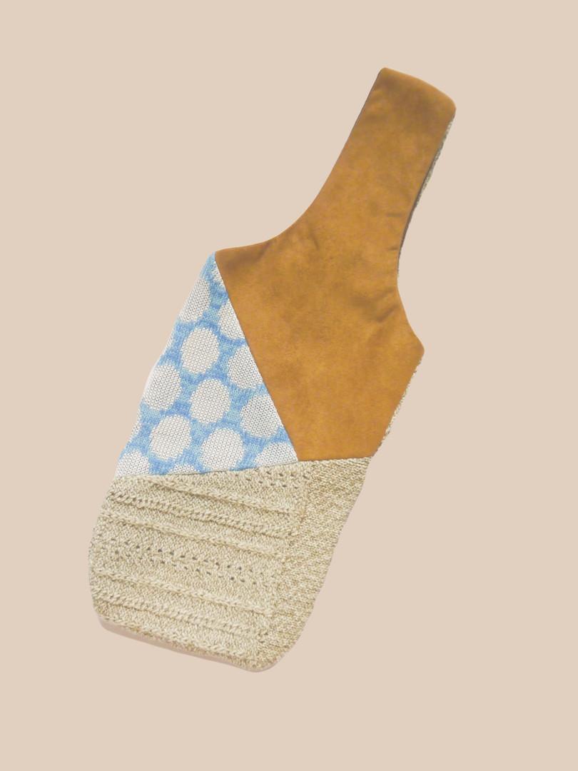 水壺提袋 / 針織拼接 _4款