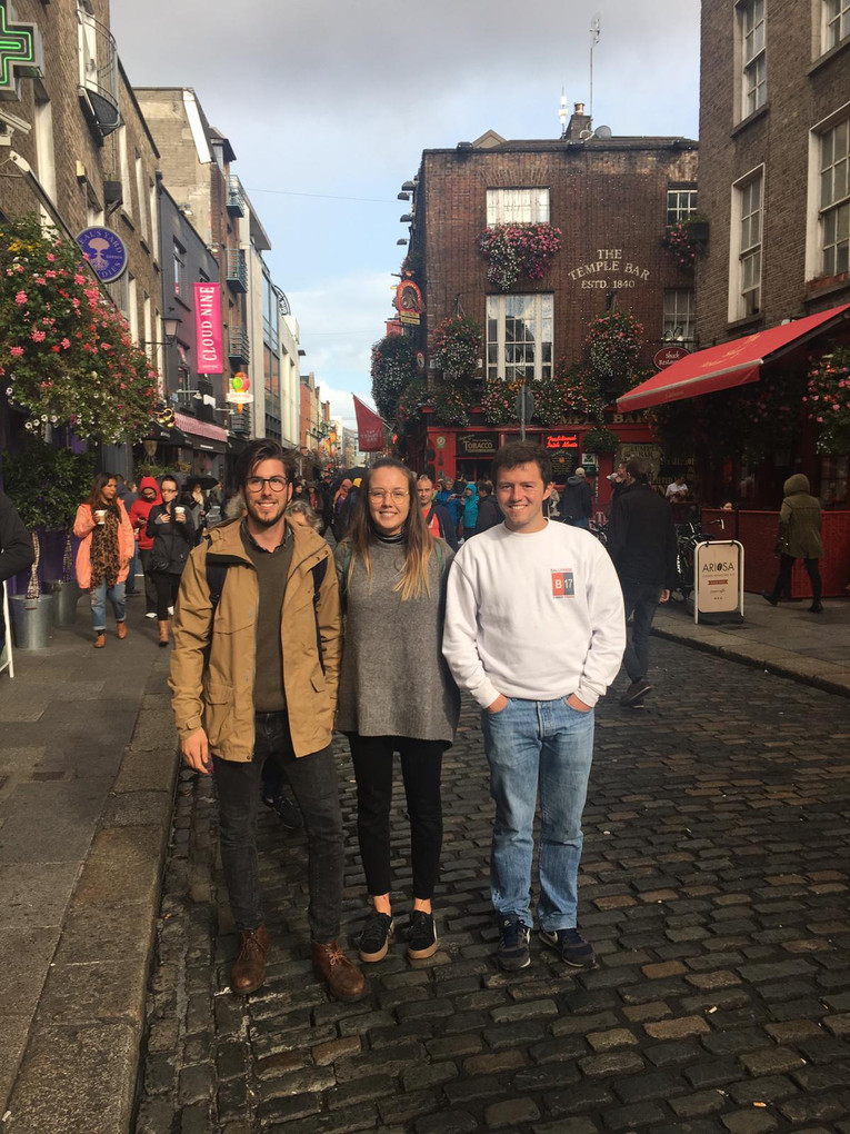 Temple Bar visit for Citywise volunteers 2017/18