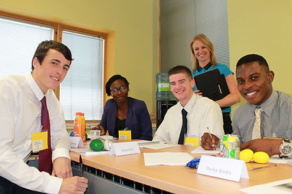 SFT students on the Biz Academy Program.